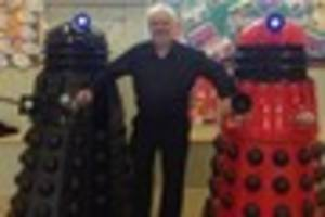 devon man who makes full-sized daleks in his shed turns hobby...