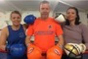 VIDEO: Staffordshire Police officers ready for boxing event with...
