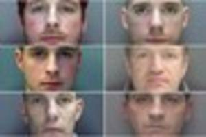 fast and furious-style gang who raided cashpoints across country...