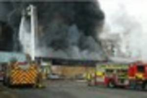 massive warehouse fire could have destroyed parcels destined for...