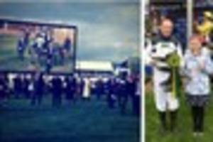 soldier gains emotional success in cheltenham charity race for...