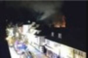 flats have been evacuated in faversham after a furniture shop...