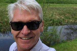 Cambridge goes Phillip Schofield mad as This Morning host visits the city
