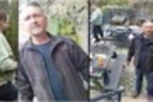 WATCH Footage released of men poaching fish in Derbyshire