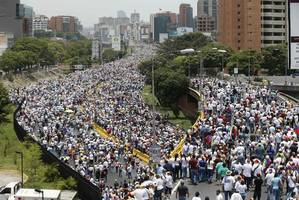 Two Killed When Huge Anti-Government Protests in Venezuela Turns Violent