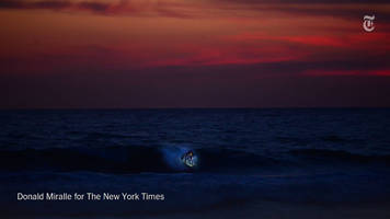 The New York Times covers San Diego night surfing