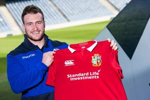 British and Irish Lions star Stuart Hogg spares a thought for unlucky pals after call-up