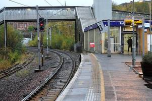 man violently assaulted by teenage thugs on rutherglen train