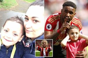 the thought of losing my baby is unbearable: bradley lowery's mum's heartache after final treatment fails