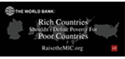 Advocates to Press World Bank to Fix Faulty Middle Income Country Designations: $2.86 per day is Not Middle-income!