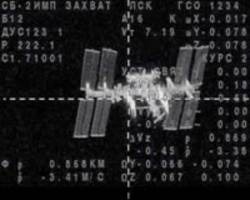 russian, american two-man crew reaches iss