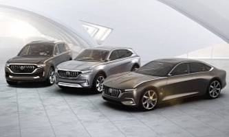Pininfarina Showcased Three Concepts In Shanghai, Two Are Electric Crossovers