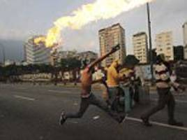 12 people are killed in Venezuela after a night of rioting