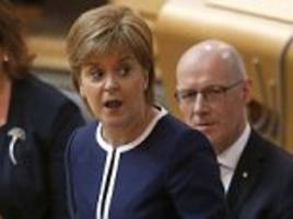 nicola sturgeon is embroiled in a 'cover up' row