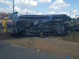 South African bus crash sees 17 children killed