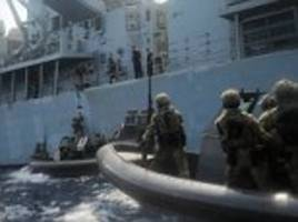US and South Korean navies take part in joint drills
