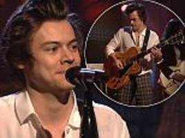 Harry Styles 'suffers backstage calamity'