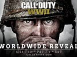 Call of Duty to release a new game set in World War II