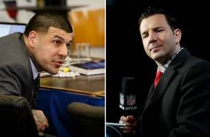 Aaron Hernandez once told Ian Rapoport 'if you f--- me over, I'll kill you'