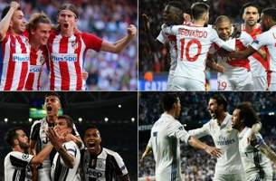 Real Madrid draws Atletico Madrid, Juventus gets Monaco in Champions League semifinals