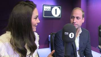Duke and Duchess surprise Radio 1 DJs as part of mental health campaign