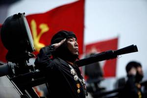 South Korea On Heightened Alert As North Prepares For Major Army Event