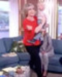 This Morning's Ruth Langsford walks off set mid-debate in shock move