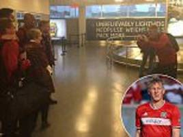 schweinsteiger snubbed as chicago fire fan asks for pic