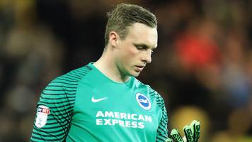 Keeper scores two own goals as Brighton miss chance to clinch title