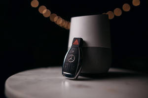 choose from alexa or google assistant in your new mercedes