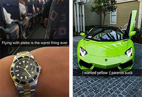 Rich Kids On Snapchat Are As Obnoxious As You'd Expect