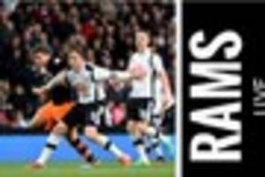 Derby County live: Rams' pre-match press conference ahead of...
