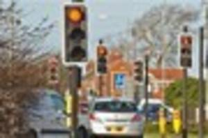 leicester magistrates' court - driver who went through red light...