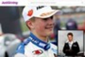 Button's £15k donation helps Billy Monger JustGiving appeal...