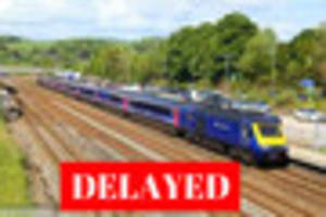 trains delayed from plymouth after level crossing crash