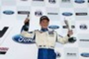 11-year-old girl gives her pocket money to formula 4 driver billy...