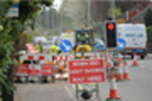 watch roadworks on the a511 near burton set to continue for...