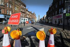 Ayr town centre set for eight months of roadworks misery as Scottish Water renews water mains