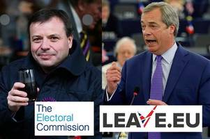 brexit backers leave.eu probed by electoral commission over claims campaign group broke law over donations