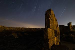 what is the lyrid meteor shower? where, when and how to see shooting stars this weekend