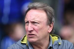neil warnock pledges maximum effort as cardiff city look to do wigan athletic's relegation rivals a huge favour