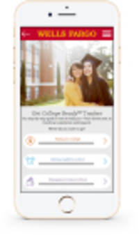Wells Fargo Readies College-bound Students With Get College Ready℠ Tracker
