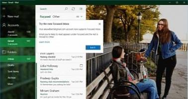 Microsoft Announces New Gmail Features for Windows 10 and Windows 10 Mobile