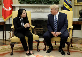 Trump Greets American Freed From Egyptian Detention