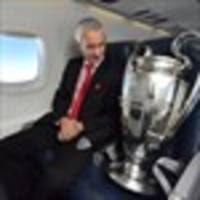 Rush pride in bringing UEFA Champions League trophy to Wales