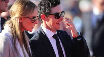 a-list guests arrive for golf star rory mcilroy and erica stoll's wedding