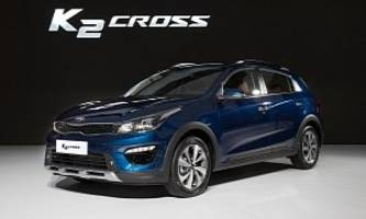 2017 Kia K2 Cross and Pegas Sedan Debut in Shanghai, Are Forbidden Fruit