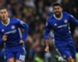 TEAM NEWS: Chelsea leave out Costa & Hazard for FA Cup semi-final