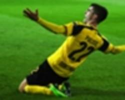 Christian Pulisic makes 50th Borussia Dortmund appearance