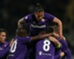 fiorentina 5 inter 4: icardi hat-trick not enough for hapless inter